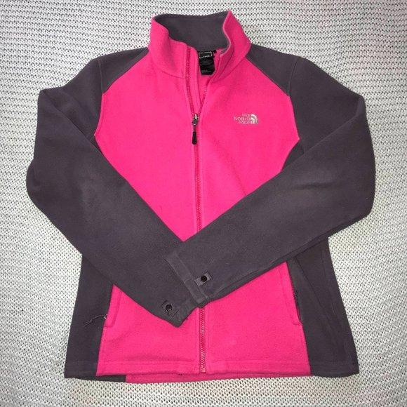 North Face Women's Medium Fleece Zip Up Jacket